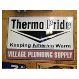 36X24 THERMO PRIDE PLUMBING SIGN