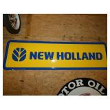 42X23 EMB. NEW HOLLAND SIGN