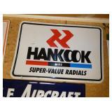36X20 HANKOOK TIRES SIGN