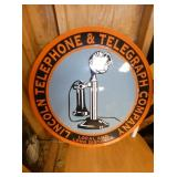 23IN. LINCOLN TELEGRAPH SIGN