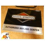 36X23 EMB. BRIGGS & STRATTON SIGN
