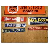 FORD/MUSTANG/PHILLIPS 66/OTHER SIGNS
