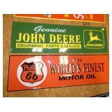 43X13 EMB J.DEERE/PHILLIPS 66 SIGNS