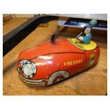 VIEW 3 SUPERIOR TOYS FIRE CHIEF CAR
