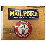 EMB.MAIL PUCK & FORD SIGNS