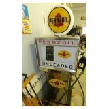 BENNETT 301B PENNZOIL GAS PUMP