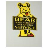 16X26 BEAR SERVICE TIRE SIGN