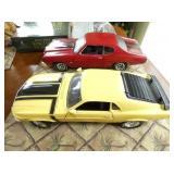MUSTANG & CHEVELLE MODEL CARS
