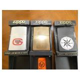GENERAL TIRE-ZIPPO LIGHTERS