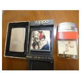 ZIPPO/BASIC/BASEBALL LIGHTERS
