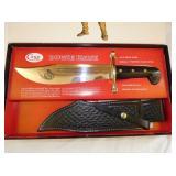 VIEW 3 CASE XX BOWIE KNIFE W/SHEATH