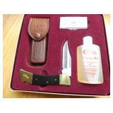 CASE XX KNIFE W/KIT