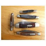 BUCK/CASE/OLD TIMER KNIVES