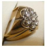 VIEW 2 14K MENS GOLD RING