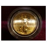 $5 AMERICAN EAGLE GOLD COIN