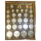 US 20TH CENTURY TYPE COIN SET