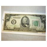 1934 $50 US NOTE