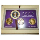 2008 PRESIDENTIAL OATH OFFICE COIN SET
