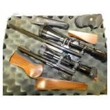THOMPSON CENTER GUNS W/SCOPES