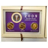 VIEW 2 CLOSE UP PRESIDENTIAL DOLLARS