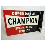 18X12 NOS CHAMPION SPARK PLUG FLANGE