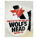 22X17 NOS WOLFS HEAD FLANGE