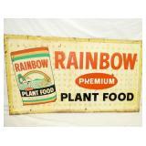 56X32 RAINBOW PLANT FOOD SIGN