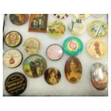 COLLECTION EARLY POCKET MIRRORS
