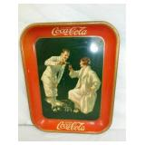 1926 COKE TRAY GOLF