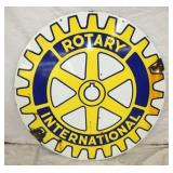 30IN ROTARY INTERNATIONAL SIGN