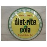 12IN DIET RITE COLA THERMOMETER