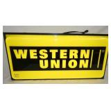 VIEW 2 OTHERSIDE LIGHTED WESTERN UNION