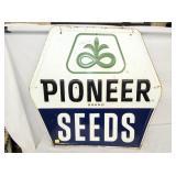 36X34 EMB. PIONEER SEEDS SIGN