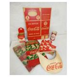 OLD STOCK COKE CARRIERS,HAT,BANKS ETC