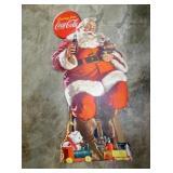 5FT. COKE CHRISTMAS SANTA STANDUP