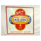 47X47 EMB. BLUE GRASS SIGN