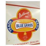 VIEW 2 EMB. BLUE GRASS SIGN