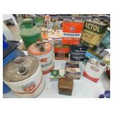 GULF, PHILLIPS,MOBIL, OTHER CANS