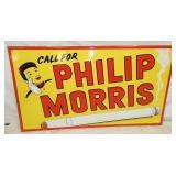 42X23 EMB. PHILIP MORRIS SIGN