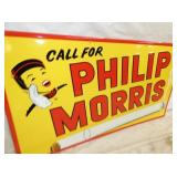 VIEW 2 CLOSEUP PHILIP MORRIS W/ JOHNNIE