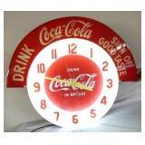 VIEW 4 36X31 COKE NEON CLOCK