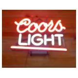 COORS LIGHT NEON