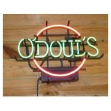 ODOULS NEON SIGN