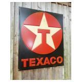 52X65 TEXACO PLASTIC INCERT SIGN