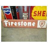 22X108 FIRESTONE SIGN PLASTIC