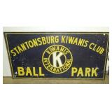 96X48 KIWANIS CLUB BALL PARK SIGN