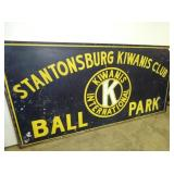 VIEW 2 STANTONSBURG PARK SIGN