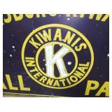 VIEW 4 96X48 KIWANIS CLUB SIGN