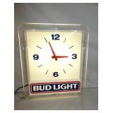 17X14 BUDLIGHT LIGHTED CLOCK
