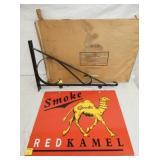 20X16 RED KAMEL SIGN W/ HANGER